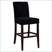 Powell Velvet Monotone Floral Slip Over for Counter or Bar Stools