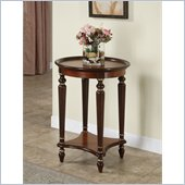Powell Furniture Masterpiece Veneer Top Accent Table