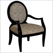 Powell Furniture Leopard Oval Back Accent Chair