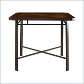 Powell Jefferson Gathering Table in Chocolate Bronze Crackle