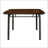 Powell Jefferson Dining Table in Chocolate Bronze Crackle