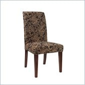 Powell Slip Over Slipcover in Autumn Tone Paisley Tapestry