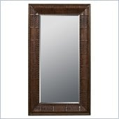 Powell Expedition Leaning Floor Mirror in Chestnut