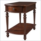 Powell Accents Chairside Table with Drawer in Cherry