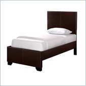 Powell Furniture New Albany Full Size Faux Leather Bed