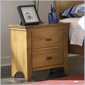 Powell Furniture Northbridge Nightstand in Champagne