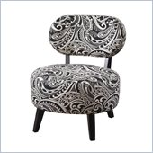 Powell Furniture Paisley Chair in Black