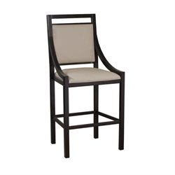 Powell Furniture 30'' Bar Stool in Chocolate