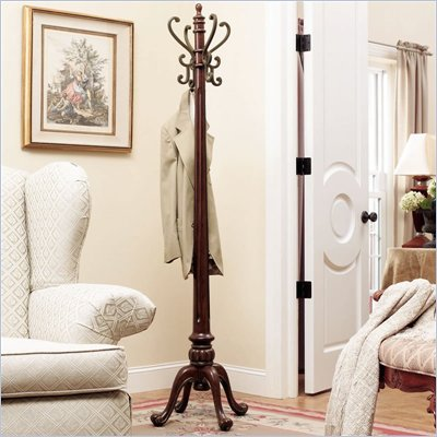 Powell Furniture Barrier Reef  Nut Brown Coat Rack