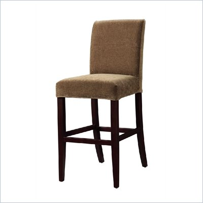 Powell Pecan Chenille Slip Over for Counter Stool or Bar Stool