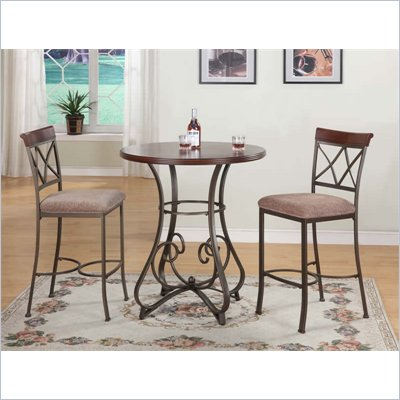 Powell Furniture Hamilton 3 Piece Pub Set