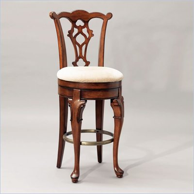 Powell Furniture Jamestown Landing Swivel Armless Bar Stool