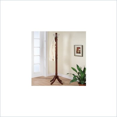 Powell Furniture Merlot Contemporary Standing Coat Rack