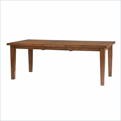 Powell Furniture Newport Dining Table in Mahogany Finish