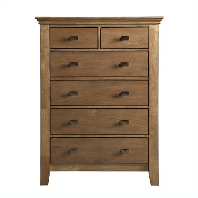 Powell Furniture Northbridge 5-Drawer Chest in Champagne