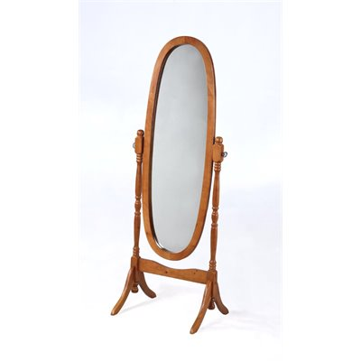 Powell Furniture Nostalgic Oak Cheval Floor Mirror