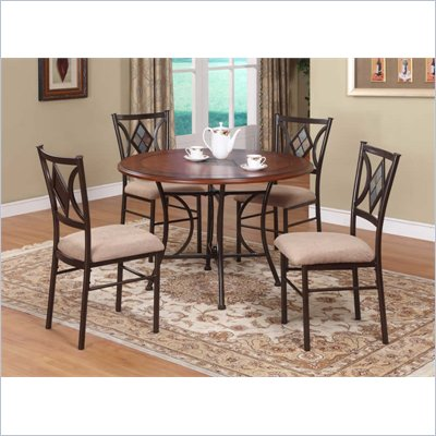 Powell Furniture Presley 5 Piece Dining Set