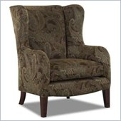 Klaussner Furniture Polo Wing Back Chair