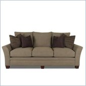 Klaussner Furniture Posen Grey Upholstered Sofa