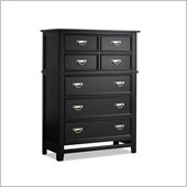 Klaussner Ashton Drawer Chest in Black