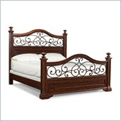 Klaussner San Marcos Bed in Cherry