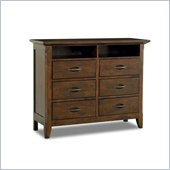 Klaussner Carturra Media Chest in Antique Bronze