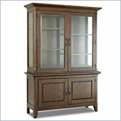 Klaussner Carturra Dining Room Buffet & Hutch in Antique Bronze