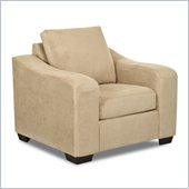Klaussner Furniture Darien Chair in Voyage Camel