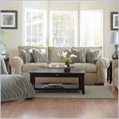 Klaussner Furniture Tiburon Sofa in Buster Putty