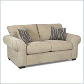Klaussner Furniture Tiburon Loveseat in Buster Putty