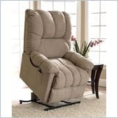 Klaussner Furniture Cambi 3 Way Lift Chair in Prado Mocha