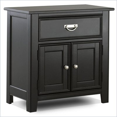 Klaussner Ashton Night Stand in Black