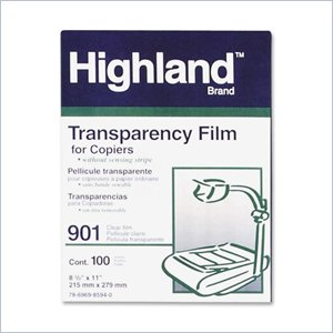 3M Highland 901 Transparency Film