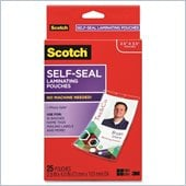 3M Self-Laminating ID Clip Style Pouch