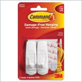 3M Medium Reusable Command Adhesive Strip Hook