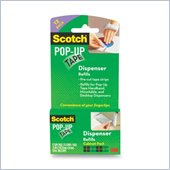 Scotch 90M Pre-Cut Tape Strips Pad