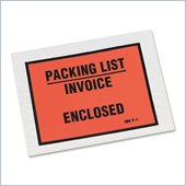3M F1-1000 Packing List/Invoice Enclosed Envelope