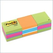 Post-it Notes Cube in Assorted Bright Colors