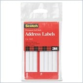 3M Scotch Permanent Address Labels