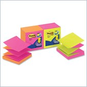 Post-it Pop-up Notes in Alternating Neon Colors