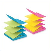 Post-it Pop-up Notes in Alternating Ultra Colors