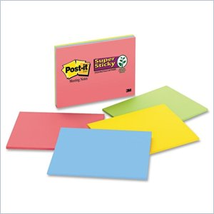 Post-it Super Sticky Notes in Bright Colors
