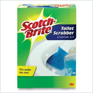 Scotch-Brite Toilet Bowl Scrubber Kit