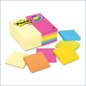 Post-it Notes Value Pack in Canary Yellow and Ultra Colors