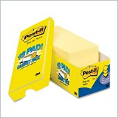 Post-it Original Canary Yellow Plain Note Pad