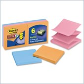 Post-it Super Sticky Pop-up Notes in Electric Glow Colors