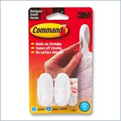 3M Command Strips and Designer Small Hook