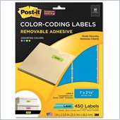 Post-it Super Sticky Color Coding Label