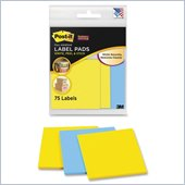 Post-it Super Sticky Compact Label Pad
