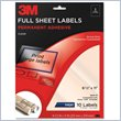 ADD TO YOUR SET: 3M Full Sheet Address Label